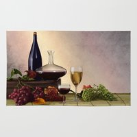wine Area & Throw Rugs featuring Wine by Azot