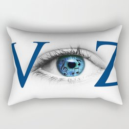 VyZ - Making Movies from ImproVyZed Music Rectangular Pillow