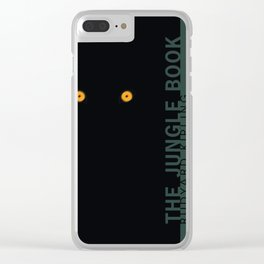 the classics .. tiger's eyes Clear iPhone Case