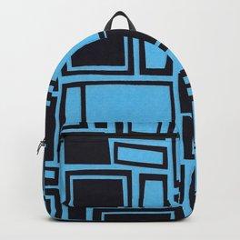Windows & Frames - Blue Backpack