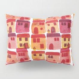 Tuscany Watercolor Pillow Sham