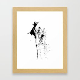 Sometimes I feel like a tree just sitting here absorbing the people that come and go. Framed Art Print
