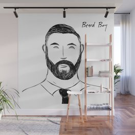 Bear Boy: Suited & Booted Wall Mural