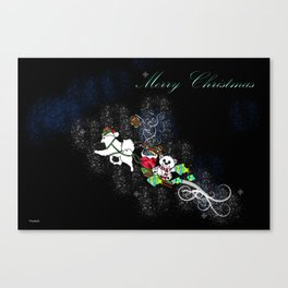 Samoyed Holiday Design Series No. 4 Canvas Print