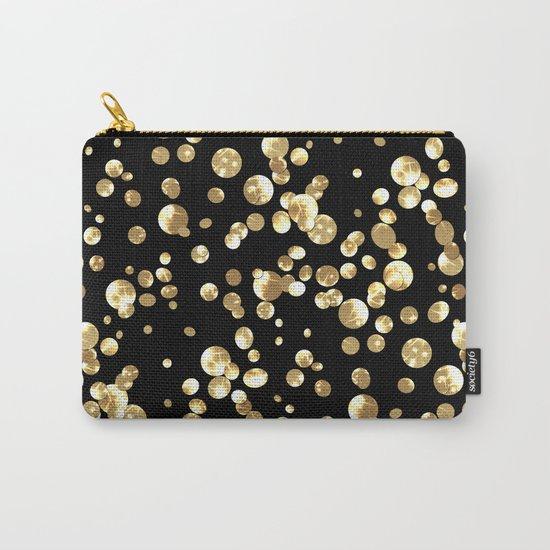 Golden confetti. Brilliant . Carry-All Pouch