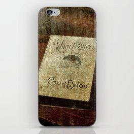 White House Cookbook iPhone Skin