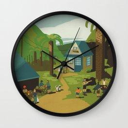 Bring Kindness Wall Clock