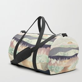 Golden Spring Reflection Duffle Bag
