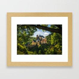 Fantasy Castle - Burg Eltz Framed Art Print