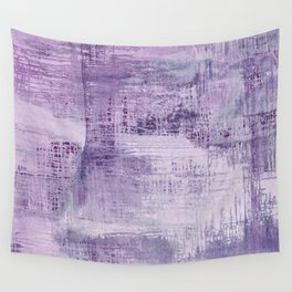 Dreamscape in Purple Wall Tapestry