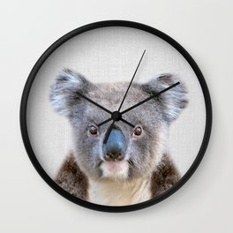 Koala - Colorful Wall Clock