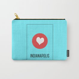 I Love Indianapolis Carry-All Pouch