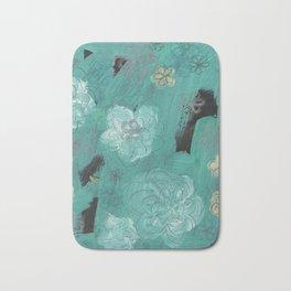 Flower Burst 3 Bath Mat