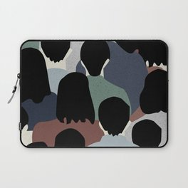 STANDING IN A CROWD Laptop Sleeve