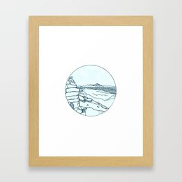 Frary Peak Framed Art Print