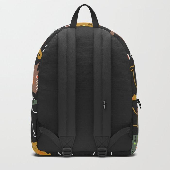 Cat decor Backpack