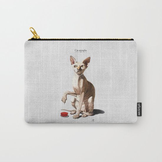 Cat-astrophe Carry-All Pouch
