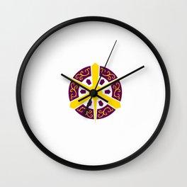 Flag of Kyoto Wall Clock