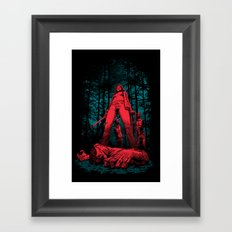 Huntress Framed Art Print
