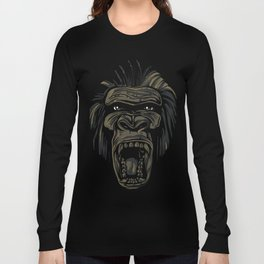 GORILLA KING KONG Long Sleeve T-shirt
