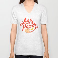 Ass Power Unisex V-Neck