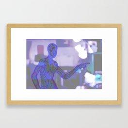 Astral body Framed Art Print
