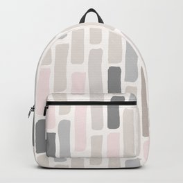 Soft Pastels Composition 1 Backpack
