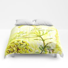 Tansy and Great mullein Comforters