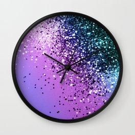 Unicorn Girls Glitter #20 #shiny #decor #art #society6 Wall Clock