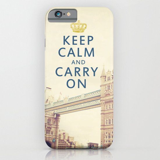 Keep Calm London iPhone & iPod Case