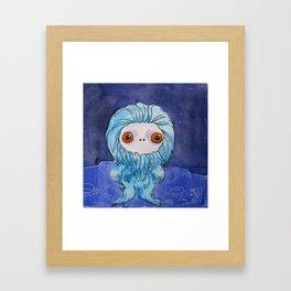 Moonkhin 3 (blue tranquil) Framed Art Print