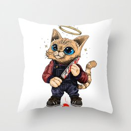 He's just a poor boy, he needs no sympathy Throw Pillow