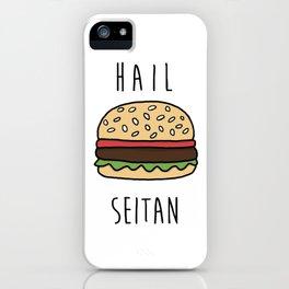 Hail Seitan iPhone Case