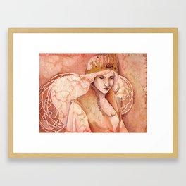 Autumn Queen Framed Art Print