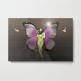 Butterfly Nymph Metal Print