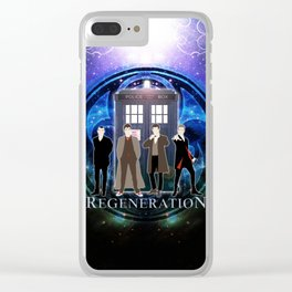 The Doctor Of Regeneration Clear iPhone Case