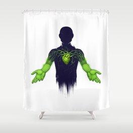 Untouchable Shower Curtain