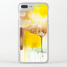 Spilling Light Clear iPhone Case