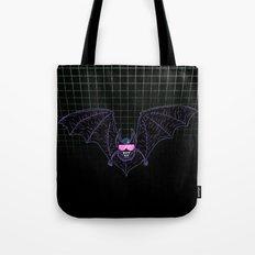 Neon Bat Tote Bag