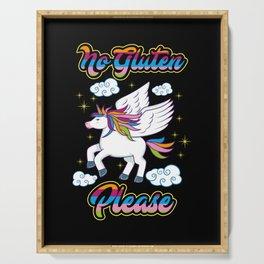 Not Gluten Please - Unicorn Nutrition Health Serving Tray