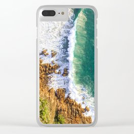 Morning Glow Clear iPhone Case