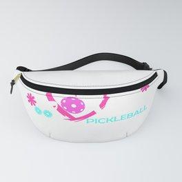Cute Pickleball Gift Pickle Ball Player Love Pickleball Design Fanny Pack
