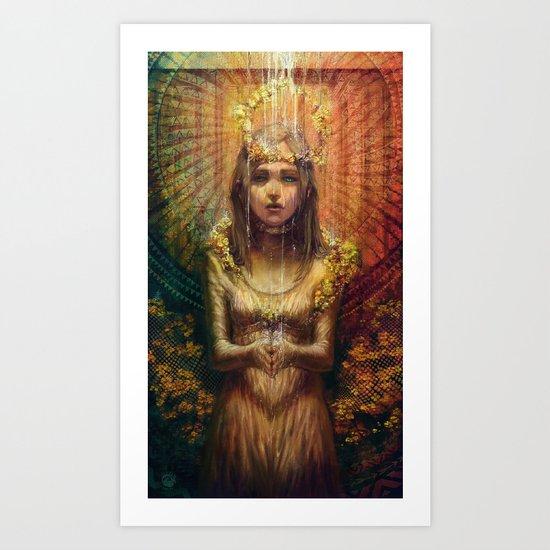 Adolescent Divine Lust Art Print