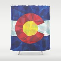 colorado Shower Curtains featuring Colorado by Fimbis