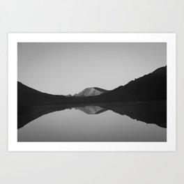 Cataract Lake Reflection - Weminuche Wilderness Art Print