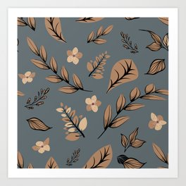 Flower Design Series 10 Art Print