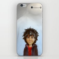 big hero 6 iPhone & iPod Skins featuring Big Hero 6 by MikakoskArts