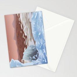 Mars Polar Caps Stationery Cards