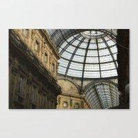 milan Canvas Prints featuring Milan by Liz Scheiner