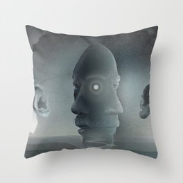 East and West Throw Pillow
